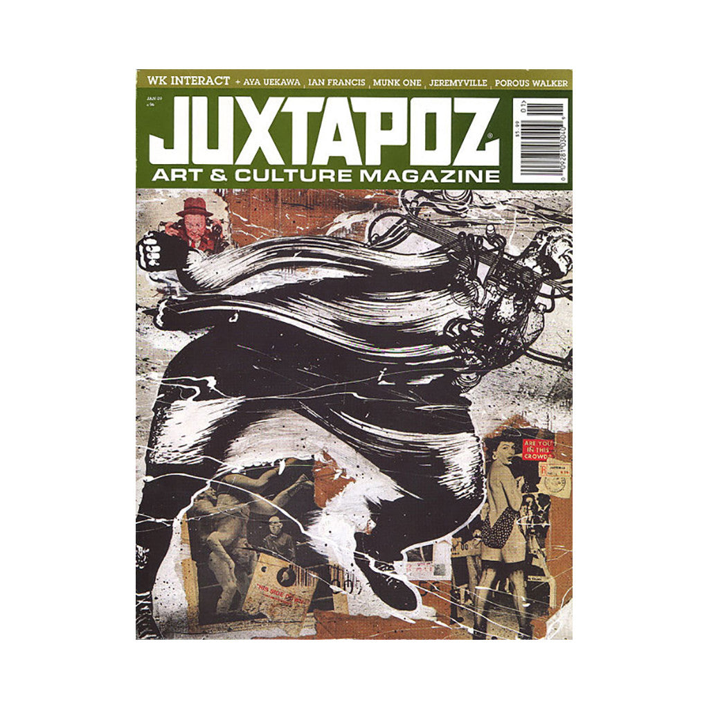 <!--020081223015700-->Juxtapoz Art & Culture Magazine - 'Issue 96, January 2009' [Magazine]