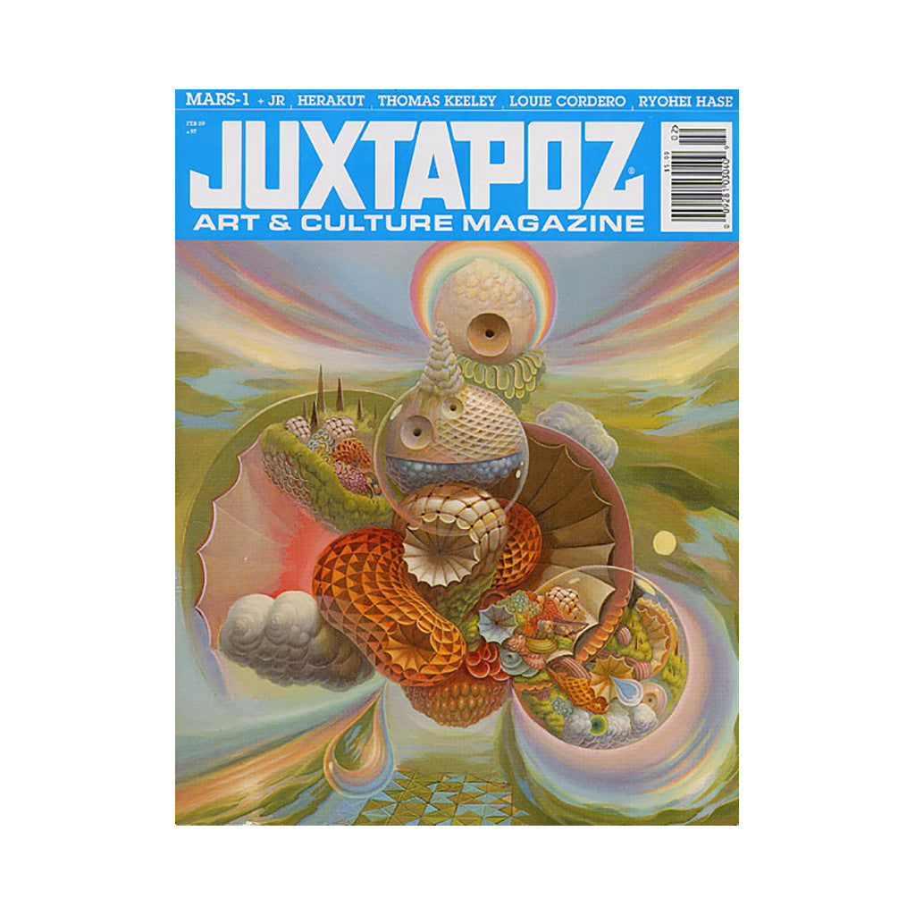 <!--020090120015870-->Juxtapoz Art & Culture Magazine - 'Issue 97, February 2009' [Magazine]