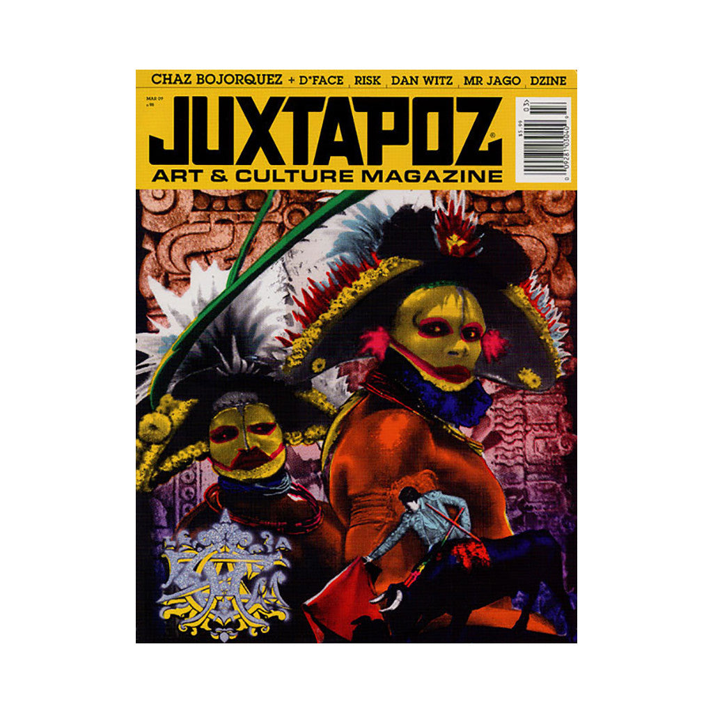 <!--020090224016258-->Juxtapoz Art & Culture Magazine - 'Issue 98, March 2009' [Magazine]