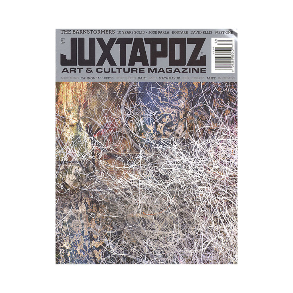<!--020091117019093-->Juxtapoz Art & Culture Magazine - 'Issue 107, December 2009' [Magazine]