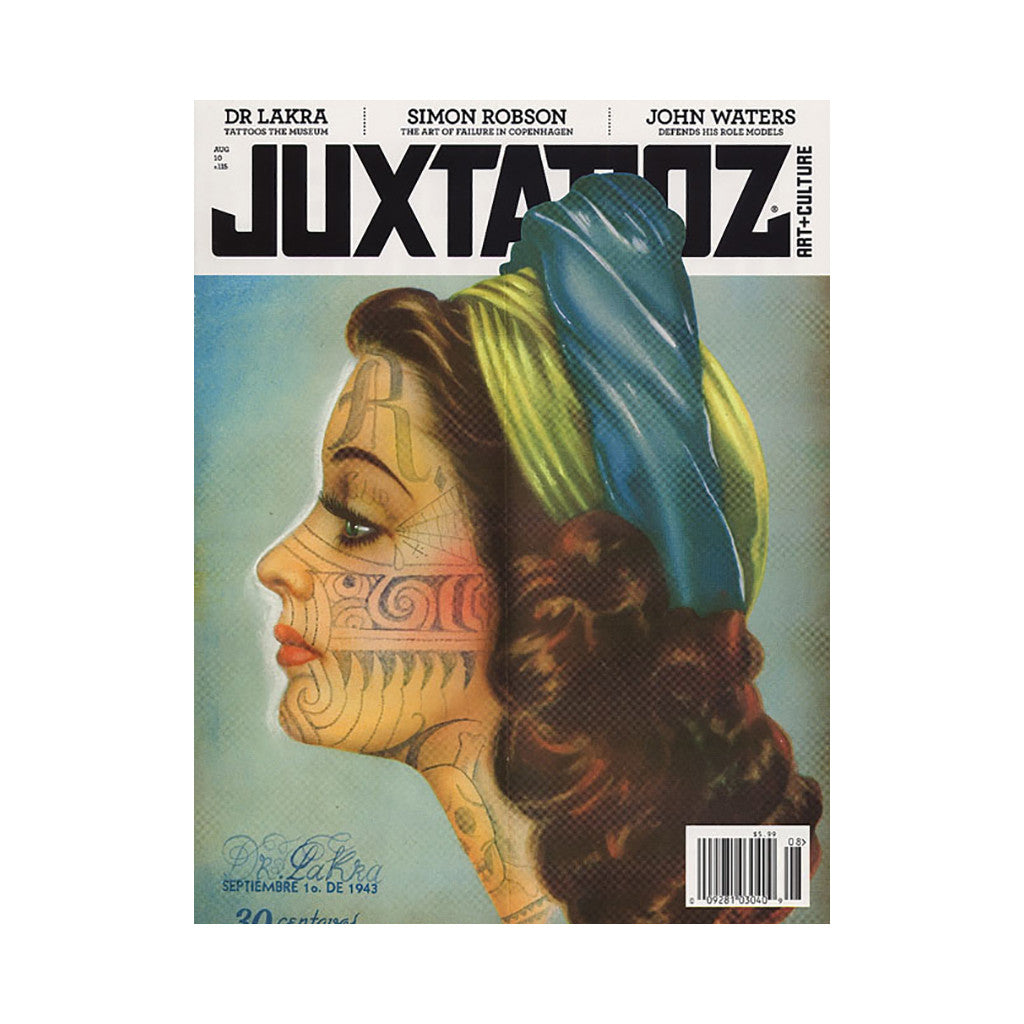 <!--020100713022393-->Juxtapoz Art & Culture Magazine - 'Issue 115, August 2010' [Magazine]