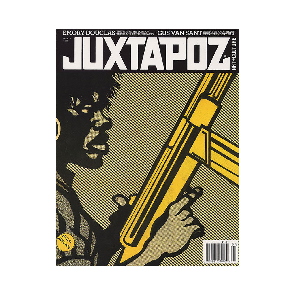 <!--020110201027454-->Juxtapoz Art & Culture Magazine - 'Issue 122, March 2011' [Magazine]