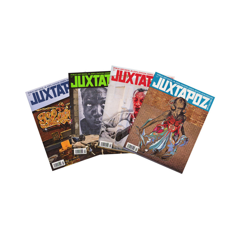 <!--020120410043628-->Juxtapoz Art & Culture Magazine - 'Issue 136, May 2012 (1 OF 4 DIFFERENT COVERS SHIPPED RANDOMLY)' [Magazine]