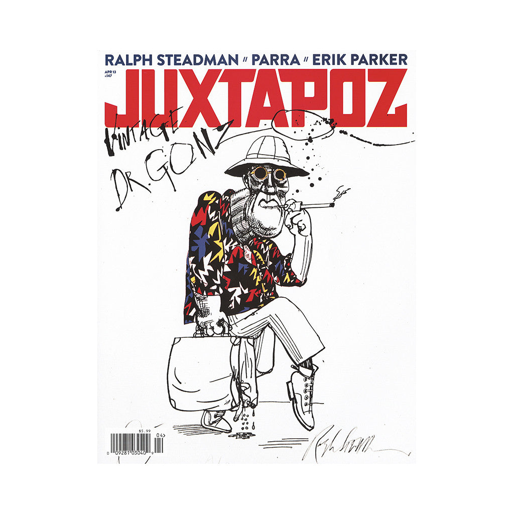 <!--020130305054311-->Juxtapoz Art & Culture Magazine - 'Issue 147, April 2013' [Magazine]