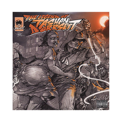 Kool Keith - 'The Legend Of Tashan Dorrsett (Tashan Dorrsett Remixes)' [(Black) Vinyl [2LP]]