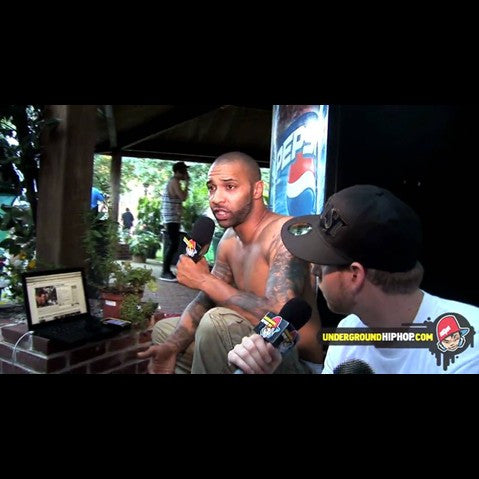 Joe Budden - 'Interview (Joe Budden vs. UGHH.com) (At Rock The Bells - Mansfield, MA - 7/18/09)' [Video]