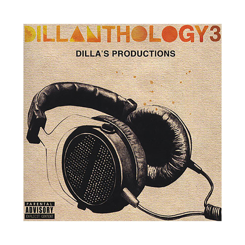 Various Artists (J Dilla aka Jay Dee) - 'Dillanthology 3: Dilla's Productions' [CD]