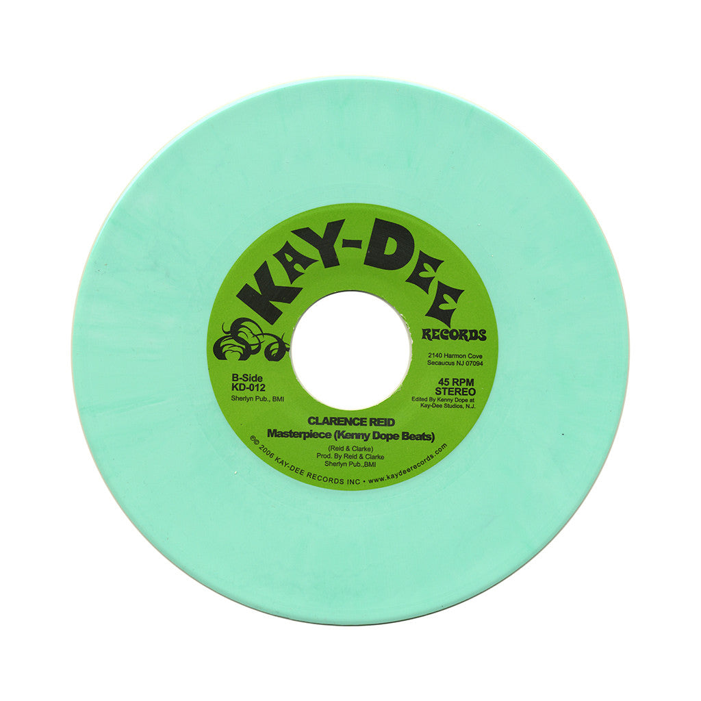 "<!--020061101004178-->Clarence Reid - 'Masterpiece (Kenny Dope Edit)' [(Mint Green Marble) 7"""" Vinyl Single]"