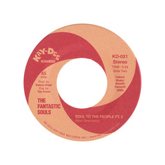 "<!--020110101000842-->The Fantastic Souls - 'Soul To The People Pts. 1 & 2 (Kenny Dope Edit)' [(Black) 7"" Vinyl Single]"