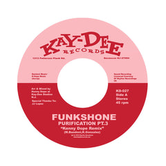 "<!--120120918003354-->Funkshone - 'Purification Pt. 3 (Kenny Dope Remix)/ Purification Pt. 4 (Kenny Dope Remix)' [(Black) 7"" Vinyl Single]"