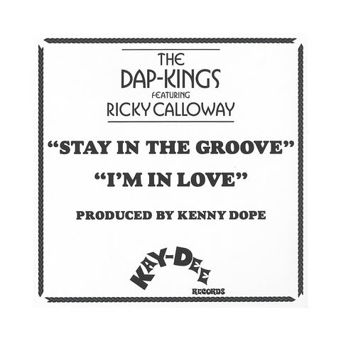 "The Dap-Kings - 'Stay In The Groove Pt. 1 & 2/ I'm In Love Pt. 3 & 4' [(Black) 7"" Vinyl Single [2x7""]]"