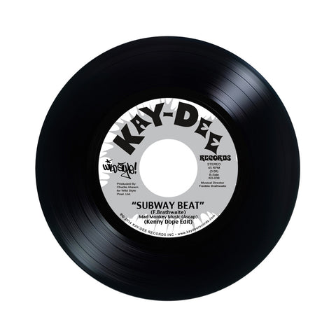 "Kenny Dope - 'Down By Law/ Subway Beat' [(Black) 7"" Vinyl Single]"