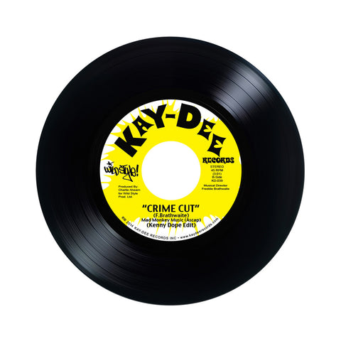 "Kenny Dope - 'Cukoo Clocking/ Crime Cut' [(Black) 7"" Vinyl Single]"