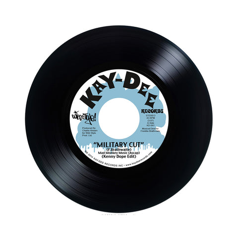 "Kenny Dope - 'Military Cut/ Busy Bees' [(Black) 7"" Vinyl Single]"