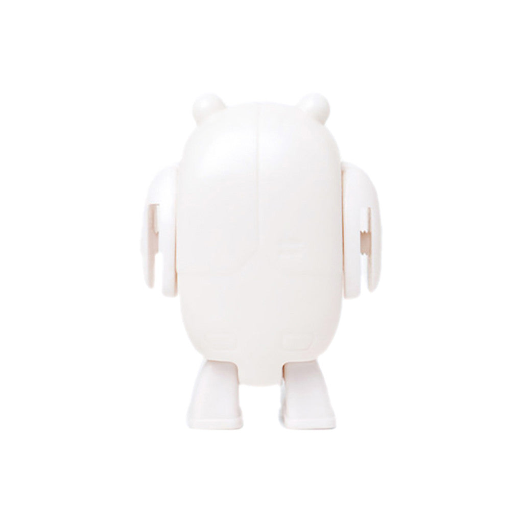 <!--019000101033291-->KeyBotz - 'KeyBot (D.I.Y.)' [(White) Toy [Blank Do-It-Yourself]]