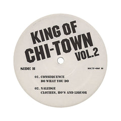 Various Artists (Chicago) - 'King Of Chi-Town Vol. 2' [(Black) Vinyl EP]