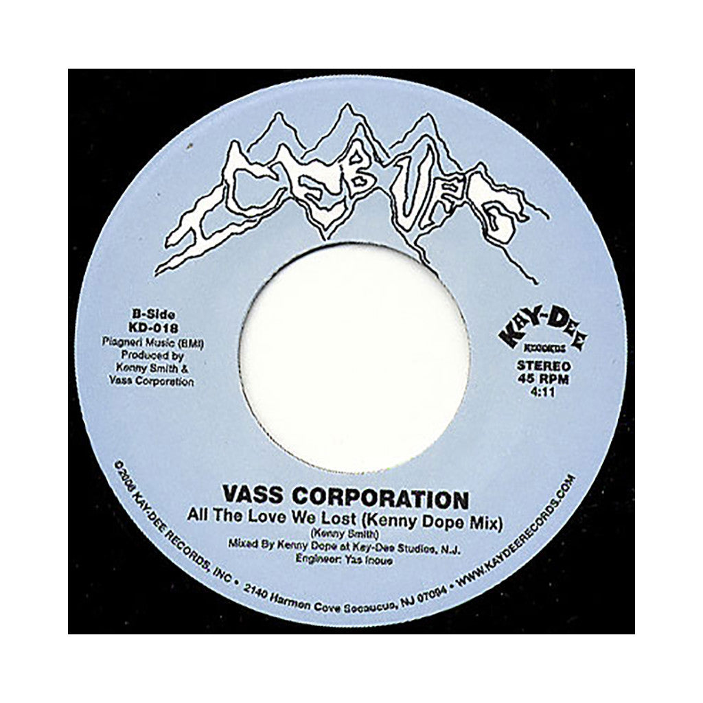"<!--020080415013495-->Vass Corporation - 'One More Day (Kenny Dope Mix)/ All The Love We Lost (Kenny Dope Mix)' [(Black) 7"" Vinyl Single]"