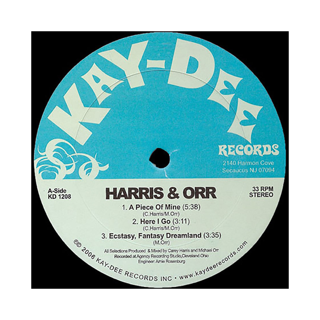 <!--020060821003188-->Harris & Orr - 'A Piece Of Mine' [(Black) Vinyl LP]