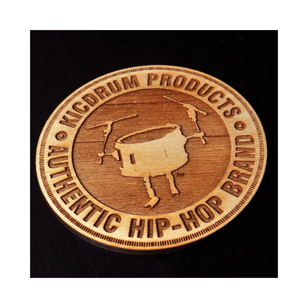 <!--020140610064506-->KicDrum Products - 'KDP Coasters (X 6)' [Miscellaneous]