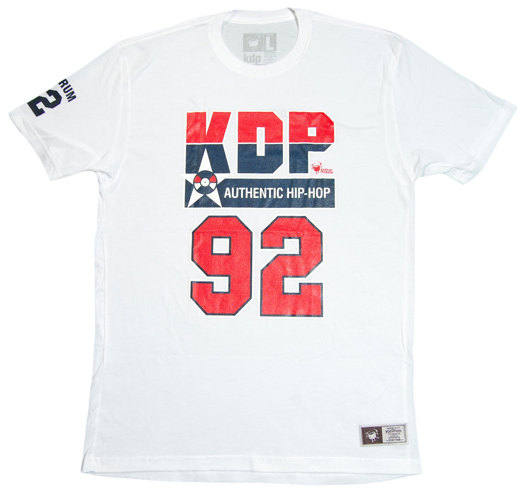 <!--2012092548-->KicDrum Products - 'Dream Team USA' [(White) T-Shirt]