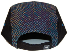 <!--020121225053077-->KicDrum Products - 'Rainbow Six' [(Black) Five Panel Camper Hat]