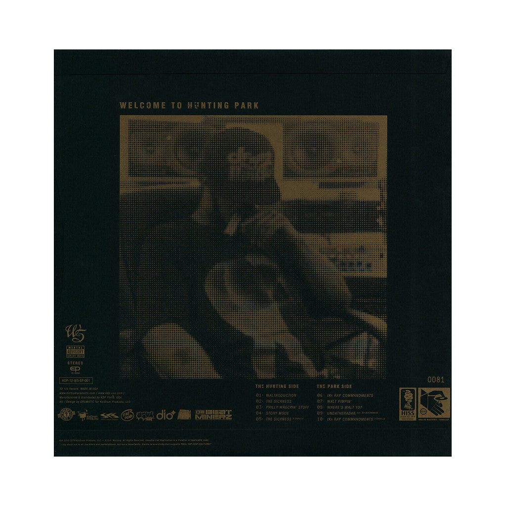 <!--020131231061761-->Walt Sicknin' - 'The EP' [(Black) Vinyl EP]