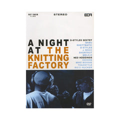 <!--020040127012267-->D-Styles (of Beat Junkies) & Ned Hoddings - 'A Night At The Knitting Factory' [DVD]