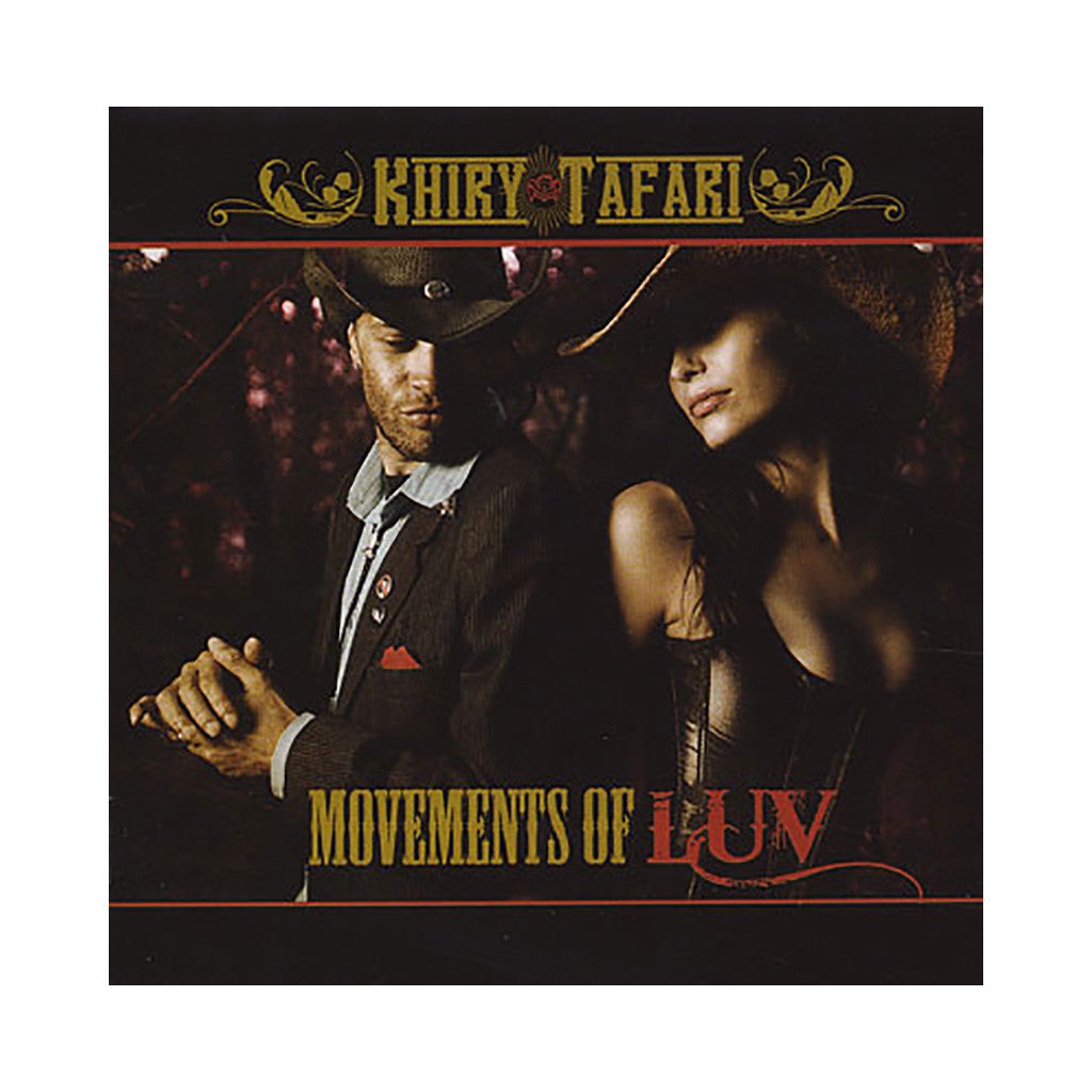 Khiry Tafari - 'Moments Of Luv' [CD]