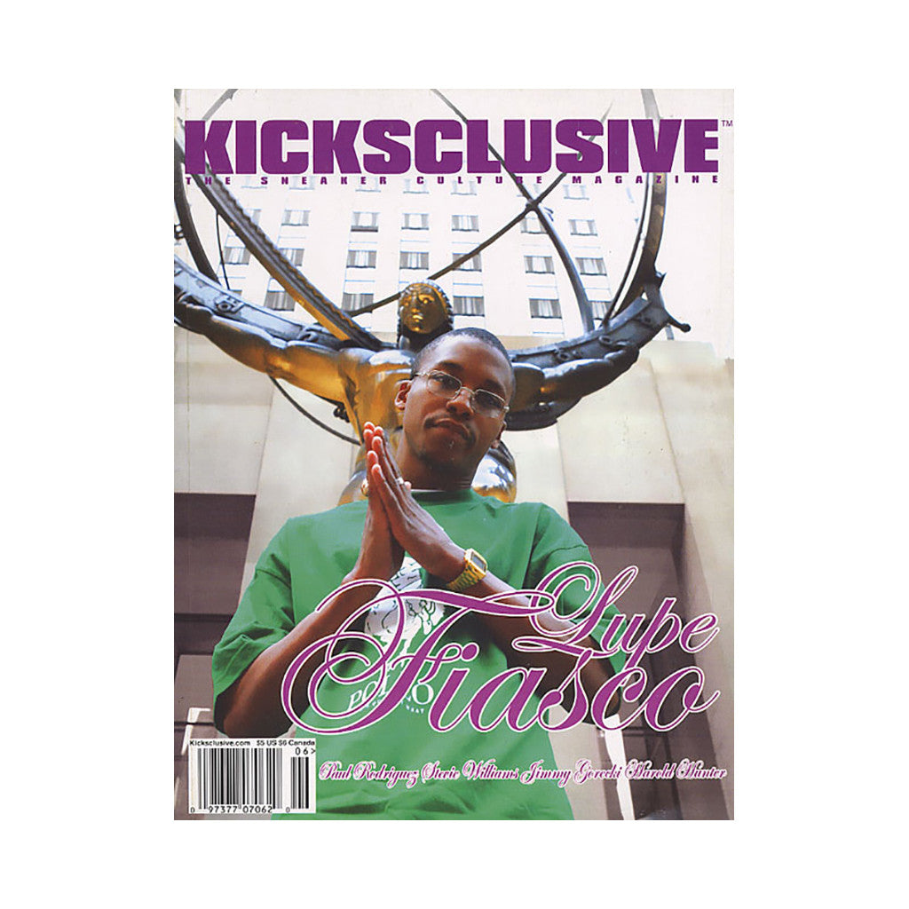 <!--020060912008292-->Kicksclusive - 'Issue 12' [Magazine]