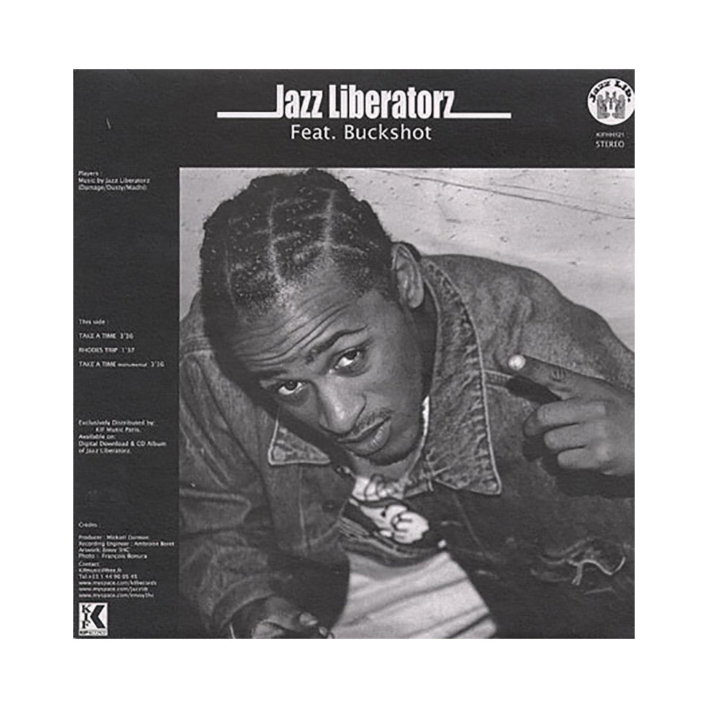 "Jazz Liberatorz - 'Take A Time/ Rhodes Trip/ The Process/ Dirty Sauce' [(Black) 12"" Vinyl Single]"