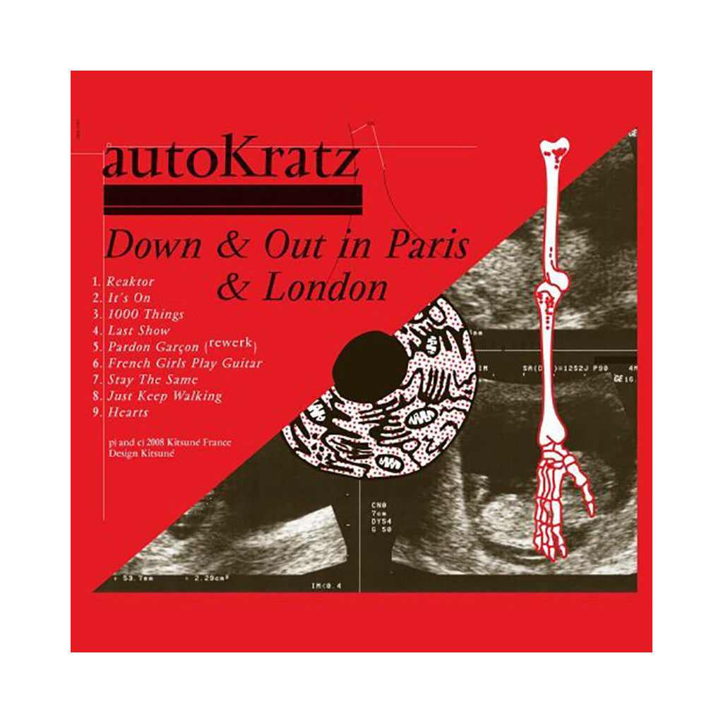 autoKratz - 'Down & Out In Paris & London' [CD]