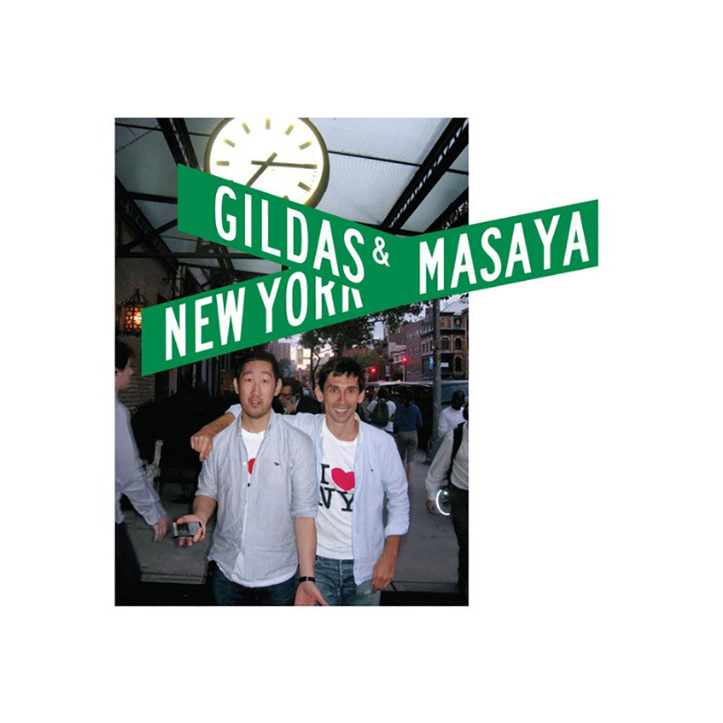 Gildas & Masaya - 'New York' [CD]