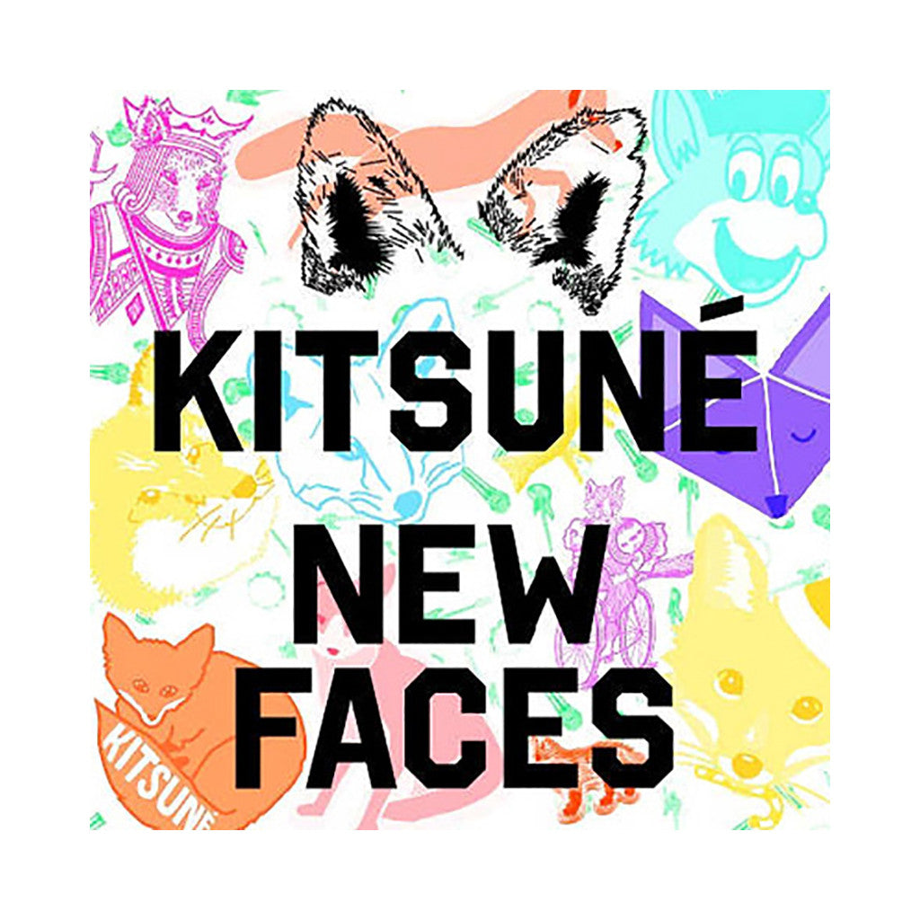<!--120140311062324-->Various Artists - 'Kitsune New Faces' [CD]