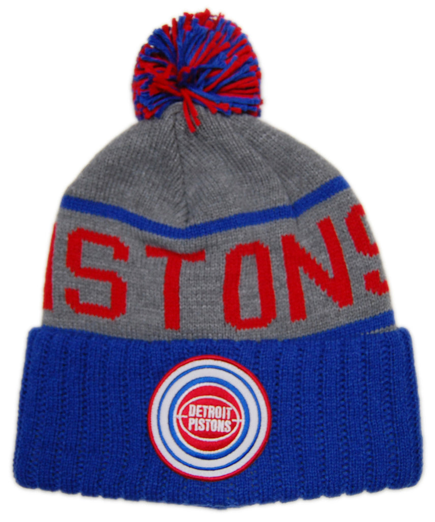 Mitchell   Ness x NBA - Detroit Pistons - High 5 Cuffed Knit 6cdae14caae
