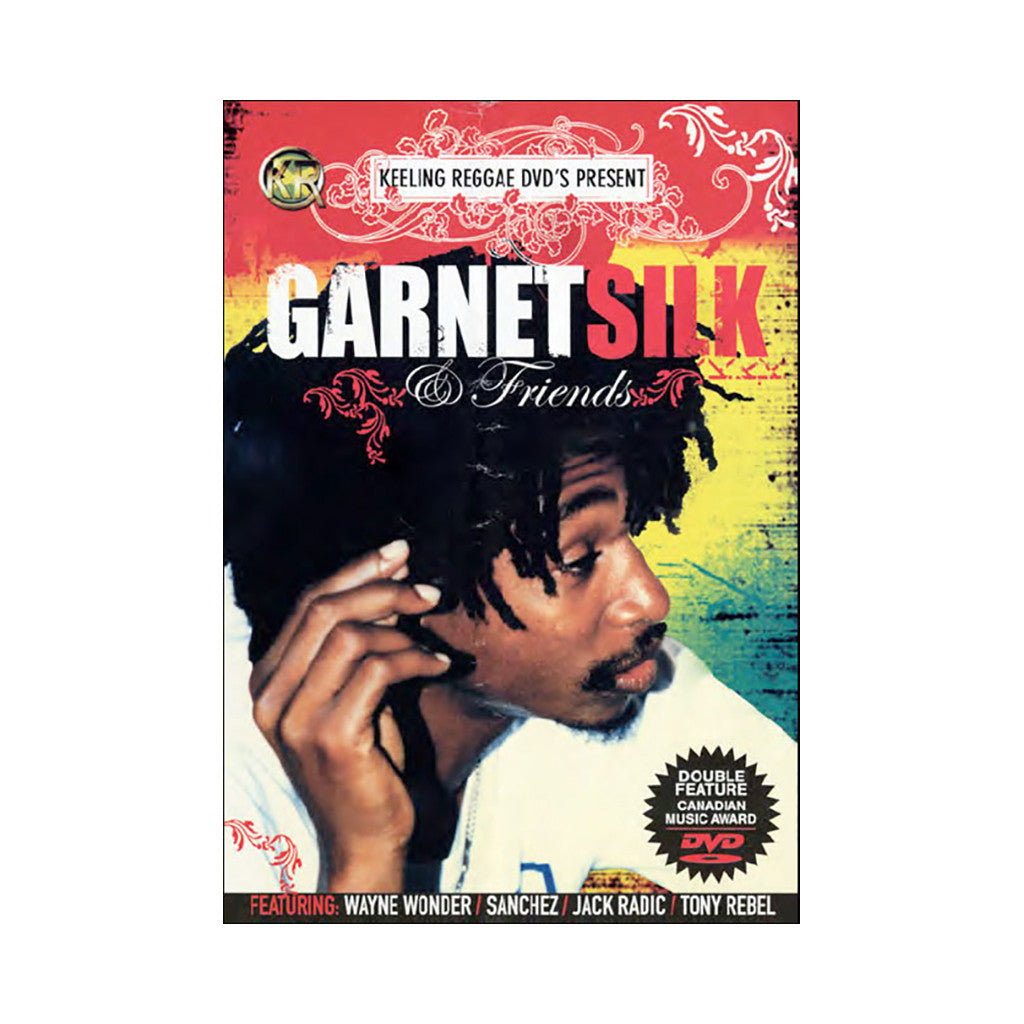 <!--020080617013817-->Garnett Silk - 'Garnett Silk & Friends' [DVD]