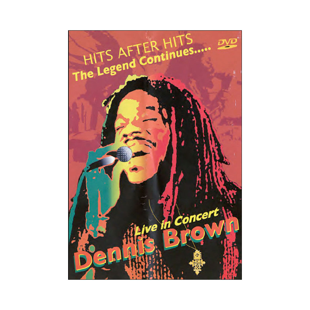 <!--020080617013827-->Dennis Brown - 'The Legend Continues....Live In Concert' [DVD]
