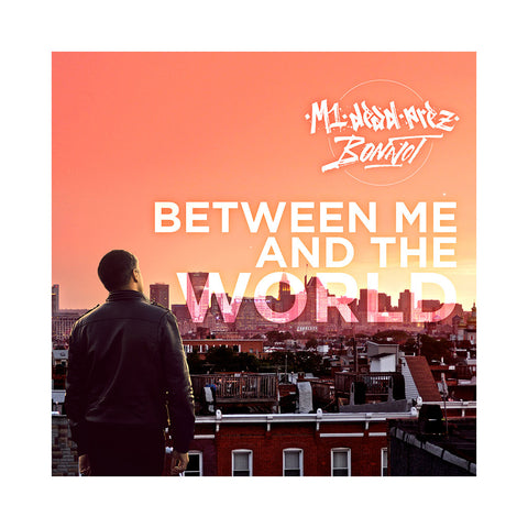 M1 & Bonnot - 'Between Me And The World' [CD]