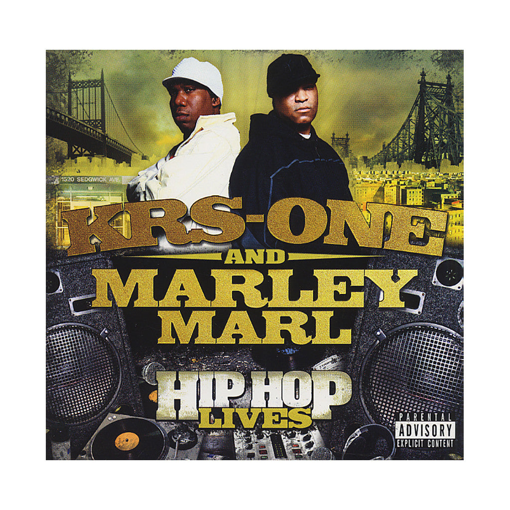 <!--2007071309-->KRS-One & Marley Marl - 'Hip-Hop Lives' [Streaming Audio]