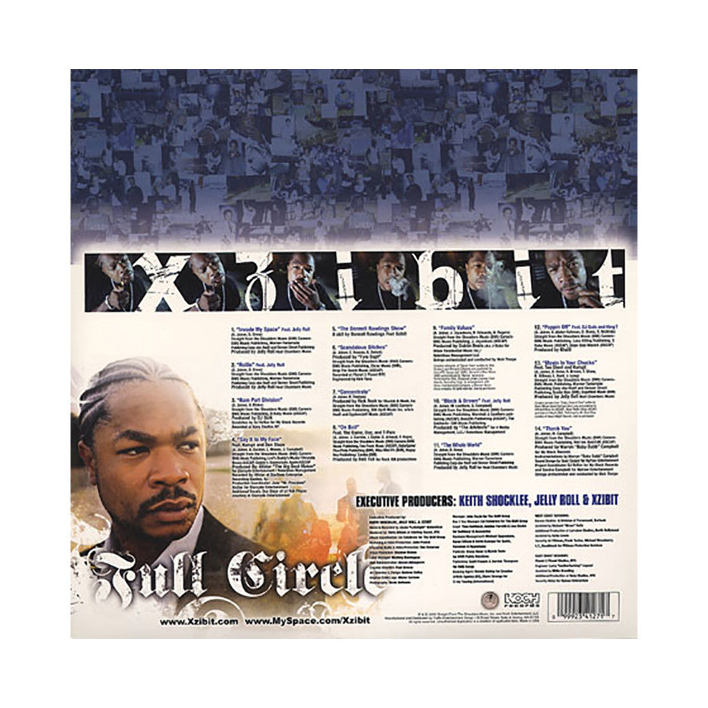 Xzibit - 'Full Circle' [(Black) Vinyl [2LP]]