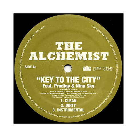 "Alchemist - 'Key To The City' [(Black) 12"""" Vinyl Single]"