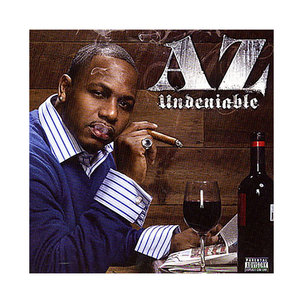<!--120080401010796-->AZ - 'Undeniable' [CD]
