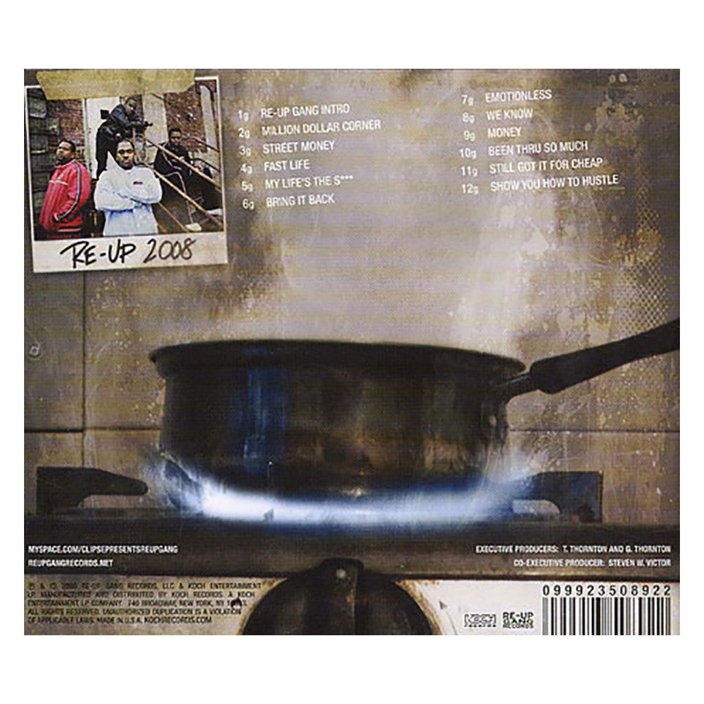 <!--020080805014334-->Clipse - 'Re-Up Gang: The Mixtape' [CD]