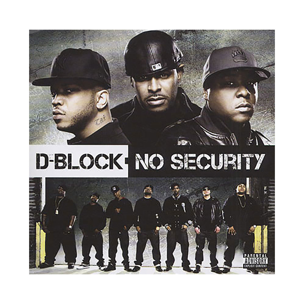 <!--120090609015049-->D-Block - 'No Security' [CD]