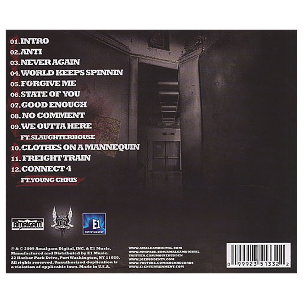 <!--120091006018407-->Joe Budden - 'Escape Route' [CD]