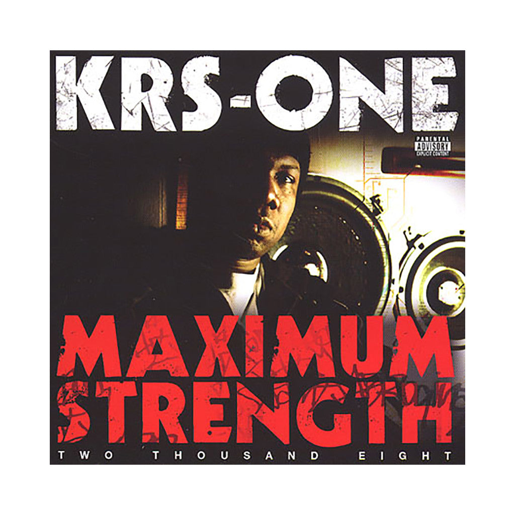 <!--020080610012837-->KRS-One - 'Maximum Strength' [CD]