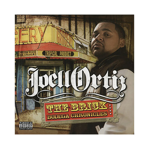 Joell Ortiz - 'The Brick: Bodega Chronicles' [CD]