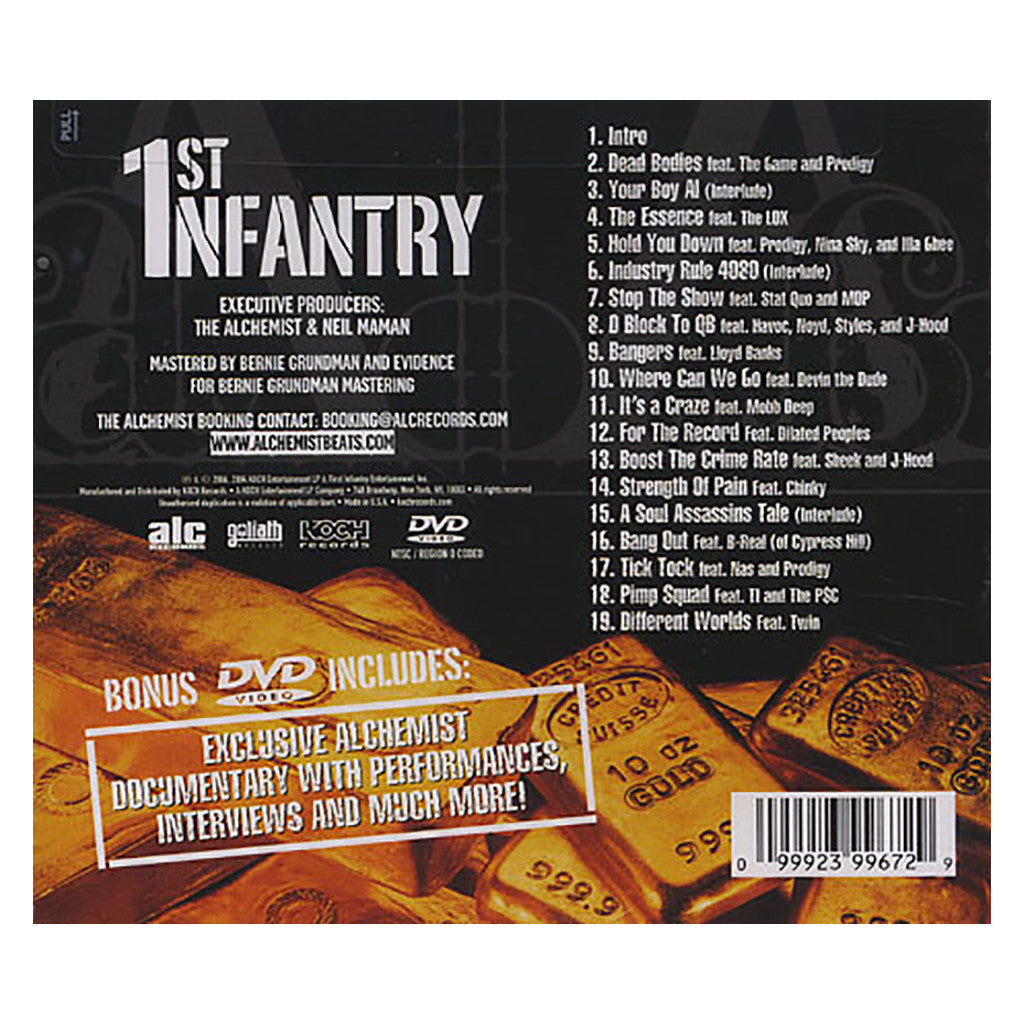 <!--120060418007185-->Alchemist - '1st Infantry (Deluxe Edition)' [CD]