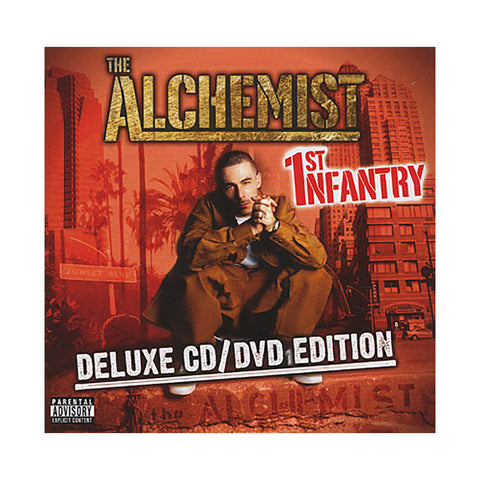 Alchemist - '1st Infantry (Deluxe Edition)' [CD]
