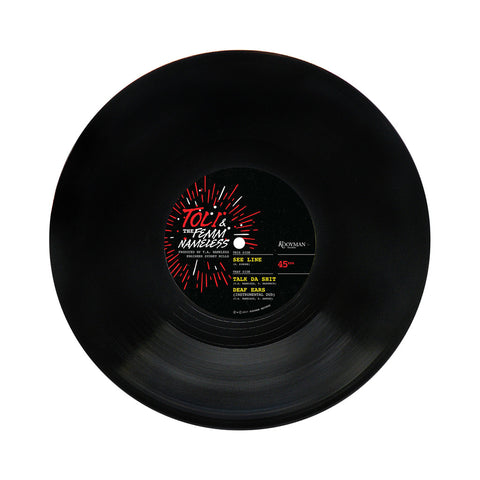 "[""Toli & The Femm Nameless - 'See Line/ Talk Da Shit/ Deaf Ears' [(Black) 10\"" Vinyl Single]""]"