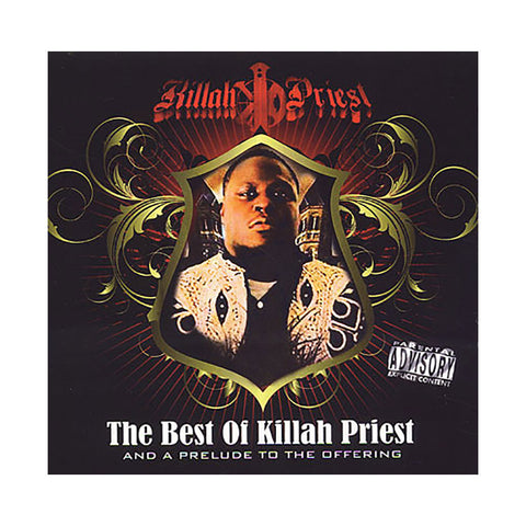 Killah Priest - 'Best Of Killah Priest & A Prelude To The Offering' [CD [3CD]]